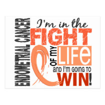 Fight Of My Life Endometrial Cancer Postcard