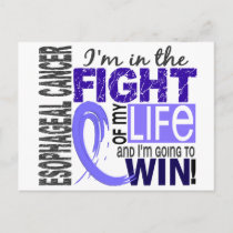 Fight Of My Life Esophageal Cancer Postcard