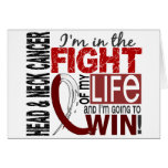 Fight Of My Life Head And Neck Cancer Card