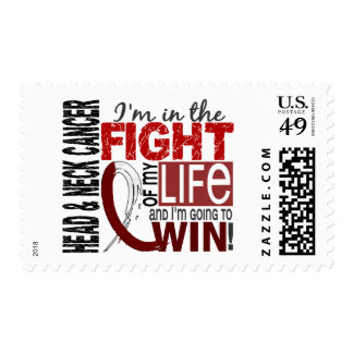Fight Of My Life Head And Neck Cancer Stamp