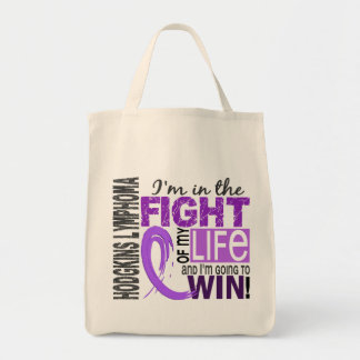 Fight Of My Life Hodgkin's Lymphoma Tote Bag
