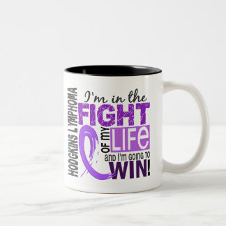 Fight Of My Life Hodgkin's Lymphoma Two-Tone Coffee Mug