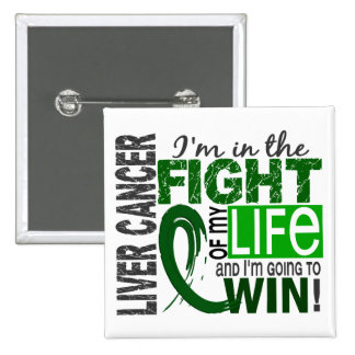 Fight Of My Life Liver Cancer Button