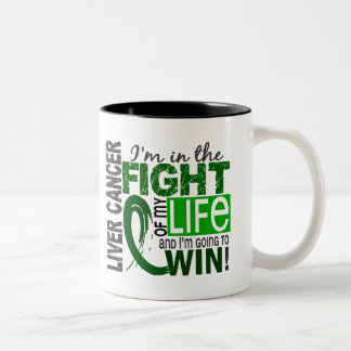 Fight Of My Life Liver Cancer Coffee Mugs