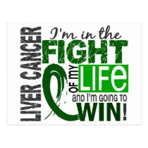 Fight Of My Life Liver Cancer Postcard