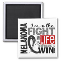 Fight Of My Life Melanoma Magnet