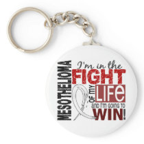 Fight Of My Life Mesothelioma Keychain