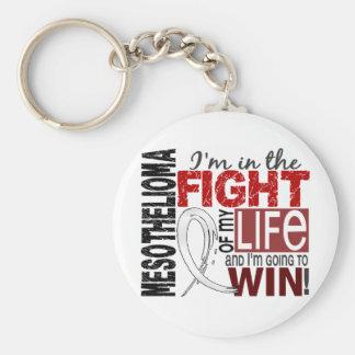 Fight Of My Life Mesothelioma Keychain