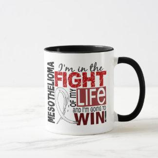 Fight Of My Life Mesothelioma Mug