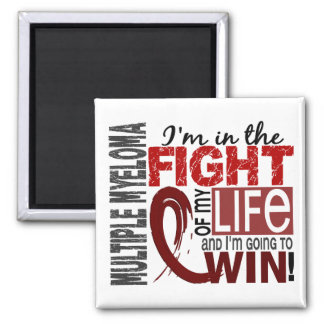 Fight Of My Life Multiple Myeloma 2 Inch Square Magnet