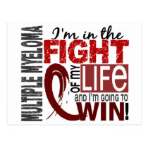 Fight Of My Life Multiple Myeloma Postcard