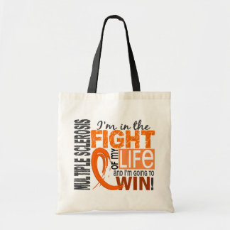 Fight Of My Life Multiple Sclerosis Budget Tote Bag