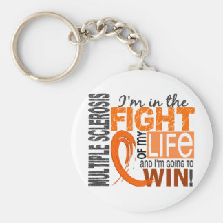 Fight Of My Life Multiple Sclerosis Keychain