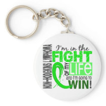Fight Of My Life Non-Hodgkin's Lymphoma Keychain