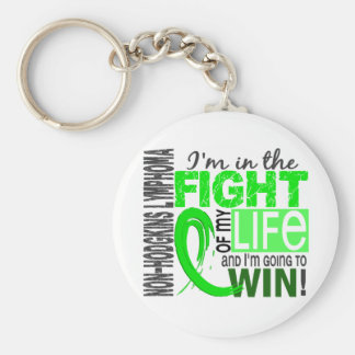 Fight Of My Life Non-Hodgkin's Lymphoma Basic Round Button Keychain