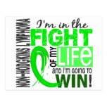 Fight Of My Life Non-Hodgkin's Lymphoma Postcard