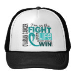 Fight Of My Life Ovarian Cancer Mesh Hats