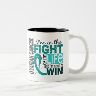 Fight Of My Life Ovarian Cancer Coffee Mugs