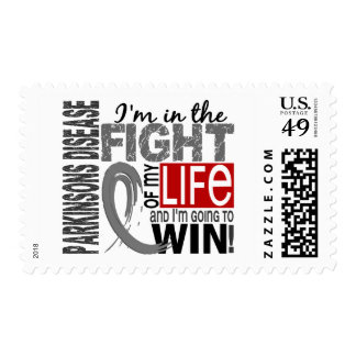 Fight Of My Life Parkinson's Disease Postage Stamp