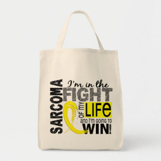 Fight Of My Life Sarcoma Canvas Bag
