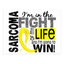 Fight Of My Life Sarcoma Postcard