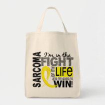 Fight Of My Life Sarcoma Tote Bag