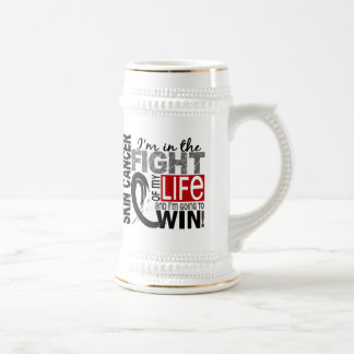 Fight Of My Life Skin Cancer Beer Stein