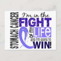 Fight Of My Life Stomach Cancer Postcard