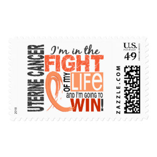 Fight Of My Life Uterine Cancer Stamp