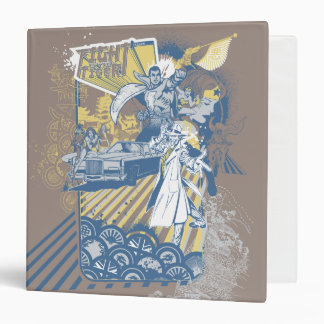 Fight of the Tiger 3 Ring Binder