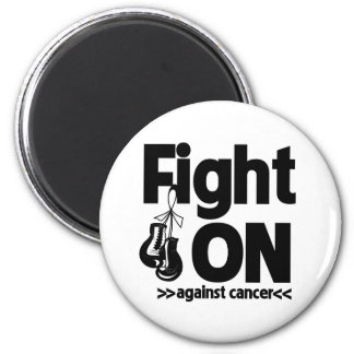 Fight On Against Carcinoid Cancer Fridge Magnets