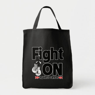 Fight On Against Lung Cancer Tote Bags