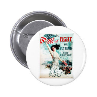 Fight Or Buy Bonds Pin