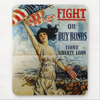Fight or Buy Bonds Mouse Pad