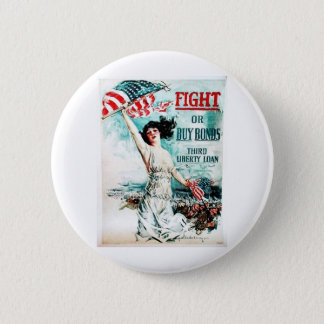 Fight Or Buy Bonds Pinback Button