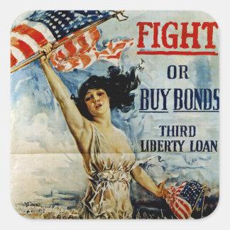 Fight or Buy Bonds Sticker