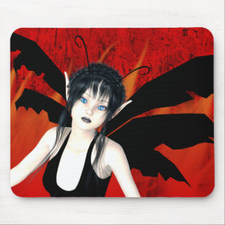 Fight Or Flight Gothic Mouse Pad