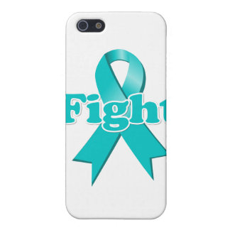 Fight Ovarian Cancer iPhone 5 Cases