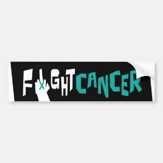 Fight Ovarian, Uterine & Cervical Cancer Bumper Stickers
