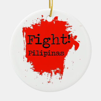 Fight Pilipinas Ceramic Ornament