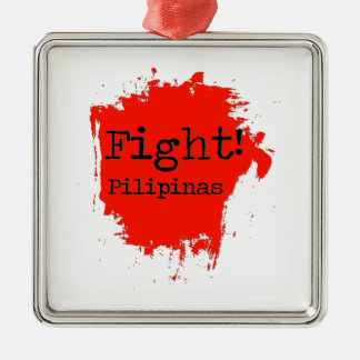 Fight Pilipinas Metal Ornament