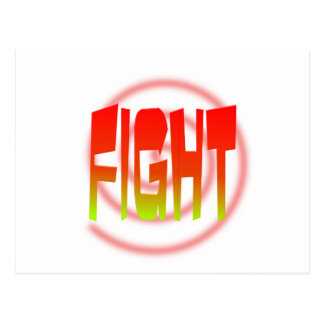 fight post card