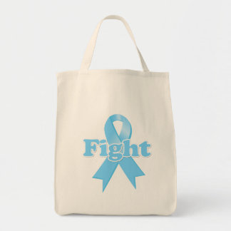 Fight Prostate Cancer Grocery Tote Bag