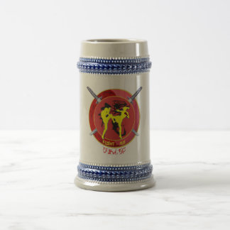 FIGHT-RGS BEER STEIN