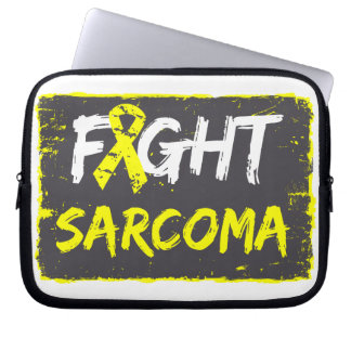 Fight Sarcoma Cancer Laptop Computer Sleeve
