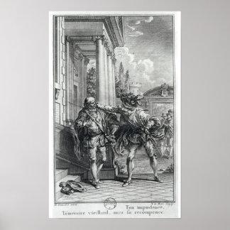 Fight scene poster