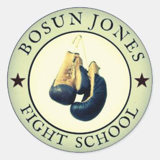 Fight School Stickers