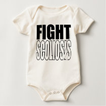 Fight Scoliosis Baby Bodysuit