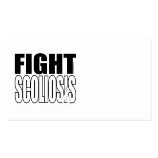 Fight Scoliosis Business Card