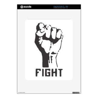 FIGHT! DECALS FOR THE iPad